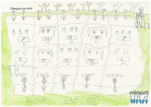 Disegna un orto 3A 17