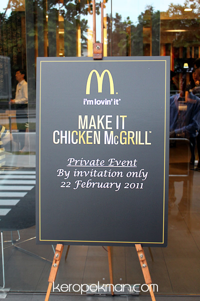 McDonald's First-ever classy 'gourmet' dinner