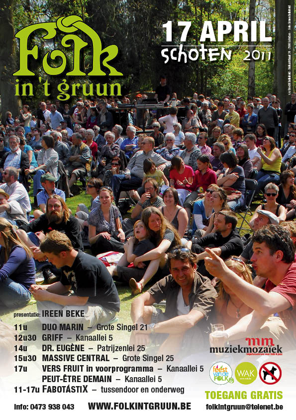 Folk in 't Gruun 2011