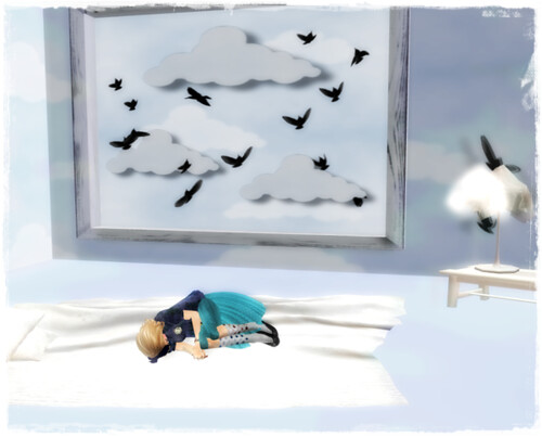 :::aju::: Bird sky box /49L$ BUZZURL!! 2011