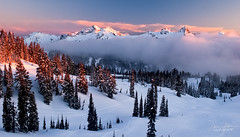 Snowclad Tatoosh (Dan Sherman) Tags: winter light sunset sunlight snow washington nationalpark peak pines rainier mountrainiernationalpark pacificnorthwest pinetrees winterlight winterscape tatoosh snowcappedmountains mtrainiernationalpark mountainsunset rainiernationalpark mountainpeak winterscapes aplenglow dansherman wintermountains tatooshmountains snowypines washingtonsnow washingtonmountains snowymountainrange pacificnorthwestmountains pacificnorthwestwinter danielsherman tatooshmountainrange danshermanphotography danshermanphotographycom dshermanphotographycom danielshermanphotography wintertatoosh snowytatoosh pacificnorthwestwinterscapes pacificnorthwestwinterscape