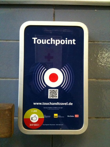 e-Ticketing Touchpoint der DB