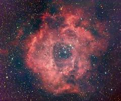 Rosette Nebula (NGC 2237) in RGB + hydrogen alpha (gus_smedstad) Tags: astrophotography deepspace ngc2237 rosettenebula Astrometrydotnet:status=solved qhy8 astro:name=ngc2252 astro:name=thestar12mon astro:name=ngc2239 astro:name=rosettenebula astro:name=ngc2244 astro:pixelScale=320 Astrometrydotnet:version=14400 astro:subject=ngc2237 astro:gmt=20110304t0100 astro:Dec=50142550923 astro:fieldsize=188x155degrees astro:RA=98006372169 astro:orientation=8702 Astrometrydotnet:id=alpha20110331511590