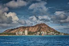 CLOUDS OVER DIAMOND HEAD (RUSSIANTEXAN) Tags: blue sky clouds volcano hawaii interestingness nikon pacific waikiki oahu explore diamondhead honolulu russiantexan explored d700 anvarkhodzhaev svetanphotography