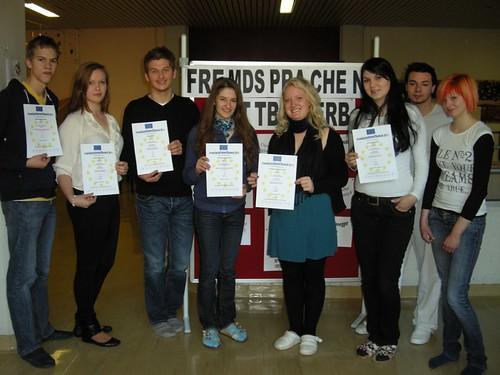 Fremdsprachen-Wettbewerb 2011 - alle Teilnehmer-innen