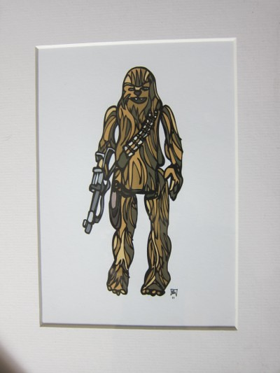 Star Wars paintings by Britt Anderson