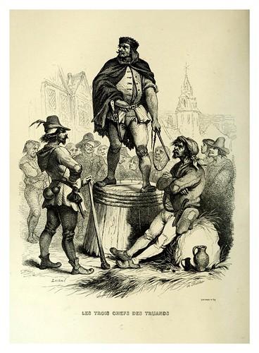 021-Los tres jefes de los truhanes-Notre-Dame de Paris 1844- edicion Perrotin Garnier Frères