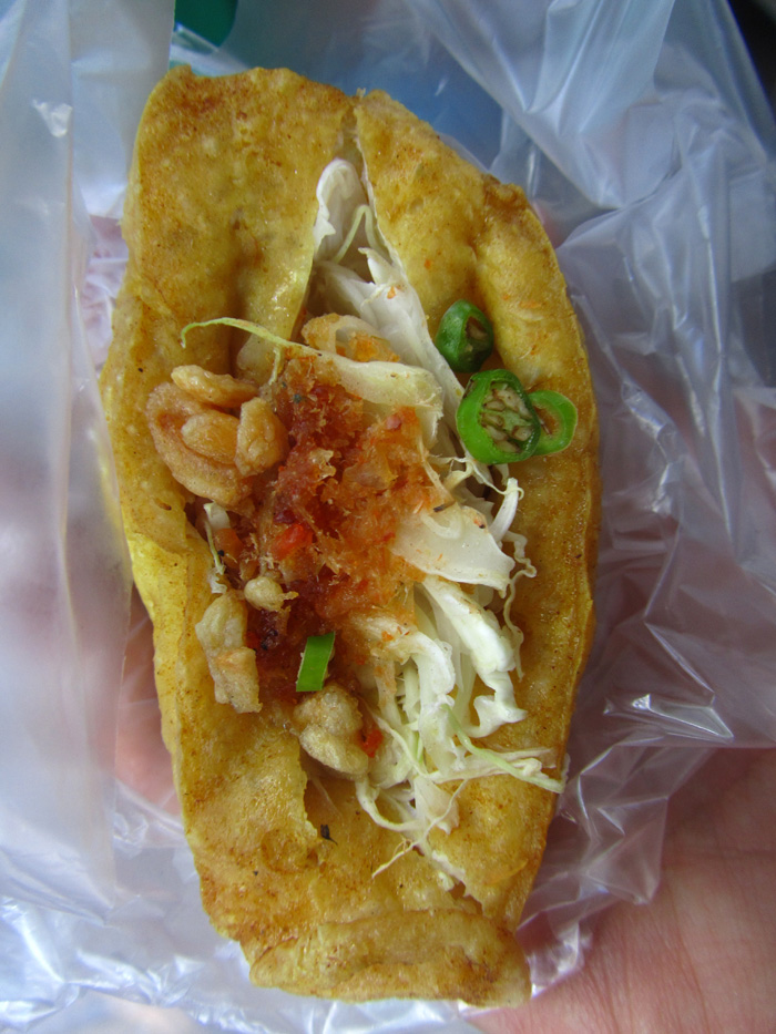 Burmese Stuffed Tofu Roll