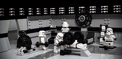 Hardcore Stormies Hit The Gym (Maximus_W) Tags: starwars lego stormtroopers gym