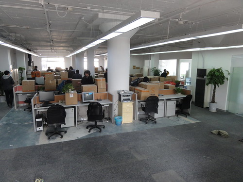 Moving into the new Spil Games Asia office
