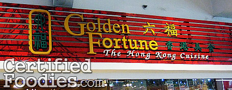 Golden Fortune in Victory Mall, Caloocan City - CertifiedFoodies.com