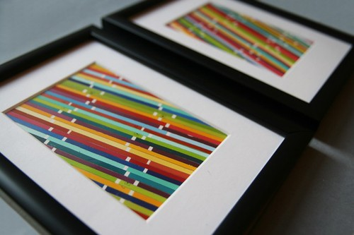 Paint Chip LL - Framed Stripes