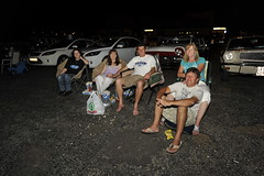 Fans enjoying the movie and the warm weather (Ford Asia Pacific) Tags: south south drive in africa automotive ford ford cars movies