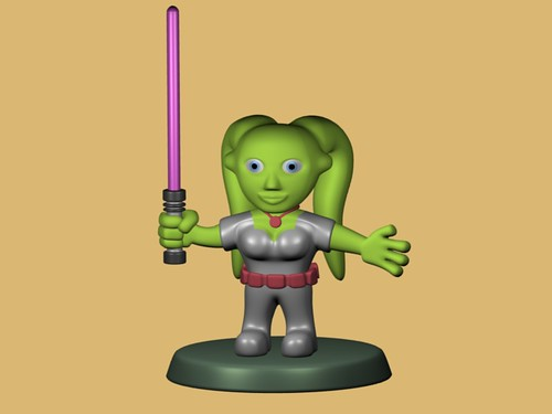 W.I.P. - Twi'kek Jedi