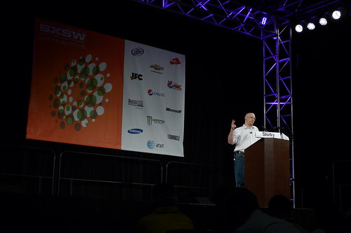 "Clay Shirky on SXSW — ""Why Would We Think Social Media Is Revolutionary?"""