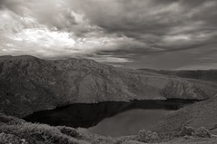 the threat (andreas_photography) Tags: lake mountains thread weather japan clouds change radioactivity fallout