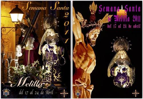 Mención Honor - Concurso Carteles Semana Santa Melilla 2011 - Carlos Serrano - José Linares