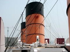 Smoke Stacks (7) (Photo Nut 2011) Tags: california ship queenmary longbeach oceanliner