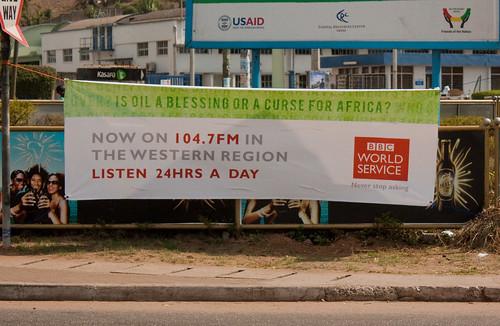Banner in Takoradi