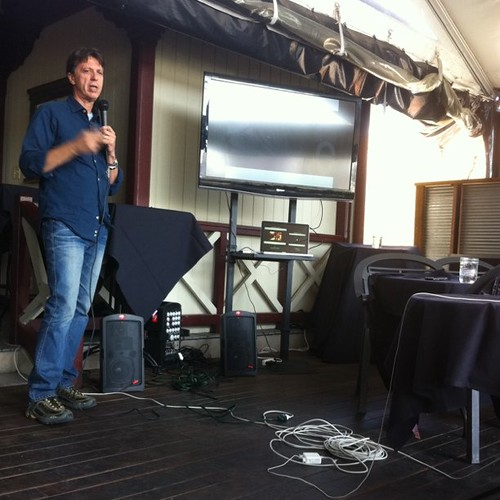 Tim Kringle talks at #SXSW