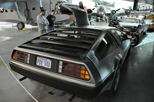 Delorean Rear
