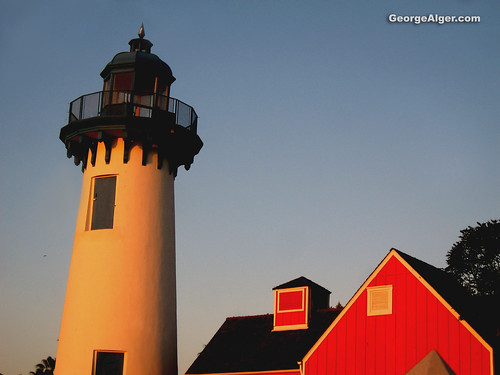 Light House and Red Roof