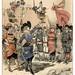 017-Revolucion de 1953-el batallon de la supremacia femenina en las barrricadas-Le Vingtième Siècle 1883- Albert Robida