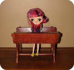 "Nanette ""I tried"" (Lawdeda ♡) Tags: make japan by paper crane ooak trying blythe custom ih in desperately rbl reroot 2011 observance lawdeda"