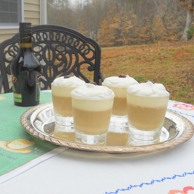 irish coffee panna cotta