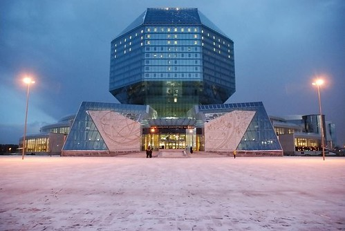 National Library, Minsk, Belarus