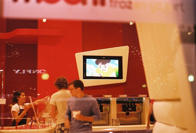 ponyo downtown (frozen yogurt shop)