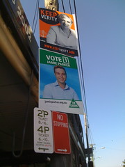 The Greens and ALP in Balmain