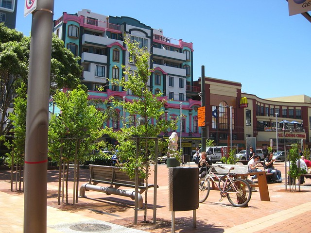 Courtenay Place, Wellington, New Zealand