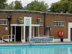 Brockwell Lido, London