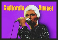 Alicia Bridges sings California Sunset (swampzoid) Tags: california sunset rock disco punk purple rockstar soul singer microphone 1978 mic popculture diva 1979 rarity crooner frostythesnowman youtube ilovethenightlife aliciabridges playitasitlays discoround