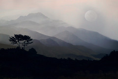 rincon moon (artfilmusic) Tags: moon mountains