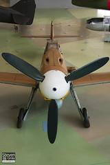 G-USTV - 10639 - RAF Museum - Messerschmitt Bf-109G2 Trop - 060703 - Hendon - Steven Gray - CRW_8631