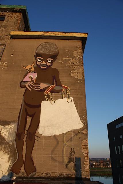 Nadia Plesner-inspired street-art