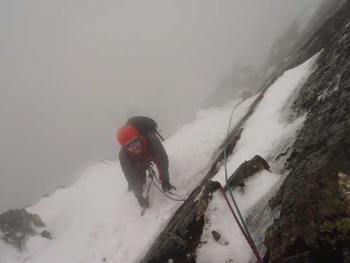 No. 3 Gully Buttress, Ben Nevis