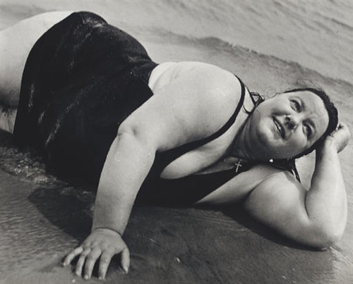 Lisette Model, Coney Island Bather, New York 1940