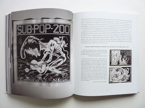 Sub Pop 200 illustrated by Charles Burns