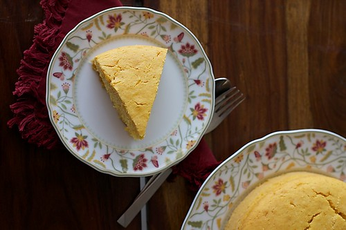 Eggless Golden Yellow Cake Recipe