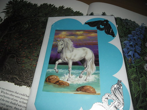 Unicorn Decoupage Card