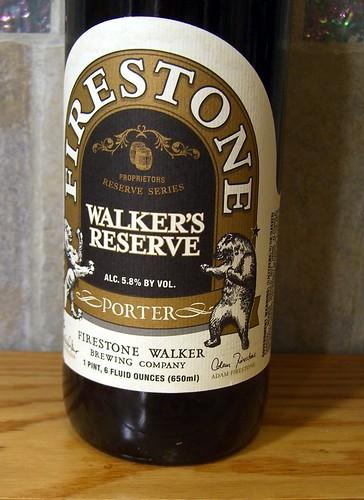 Firestone Walker Walker's Reserve Porter