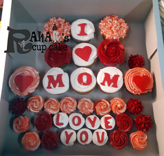 mother day cup cake (Rahf's cake) Tags: cup cake day mother