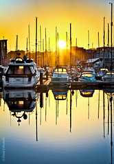Sunrise over Marina (Dave_O1 (hates the new look)) Tags: trees sunset sky sun reflection college water clouds marina docks sunrise canon campus restaurant boat suffolk university flickr waterfront harbour dusk isaac earlymorning bluesky orwell mariners 60 waterside ipswich woodbridge tidemill blue claydon greatphotographers east sky river ef100400mm macro 7d eos neptunecourt neptunequay wherryquay anglia eos500d ef perfectsunsetssunrisesandskys efs eos7d waterenvirons efs1585mm dredangler 100400l deben 1585 dave01 daveo1