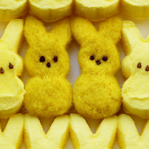 Needle-Felted Easter Marshmallow Candies / radmegan
