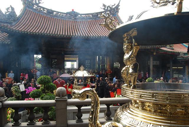 龍山寺(台北人気観光地)