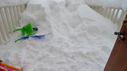 Still plenty of snow