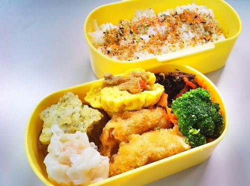 今日のお弁当 No.139 – 鮭わかめ